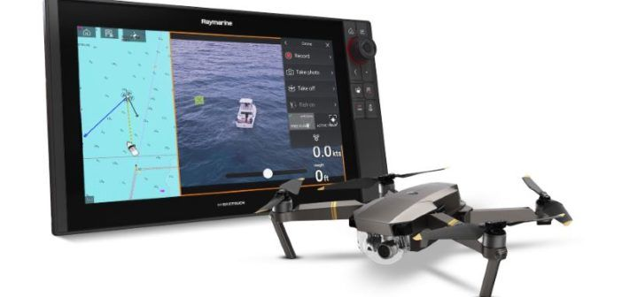 display multifunzione barche raymarine compatibile dji