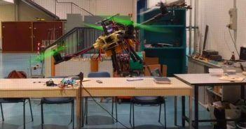 drone con braccia inclinabili progetto politecnico milano