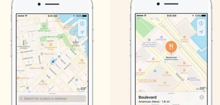 apple usa droni per migliorare le mappe