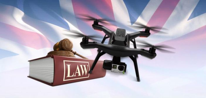 nuove leggi sui droni uk
