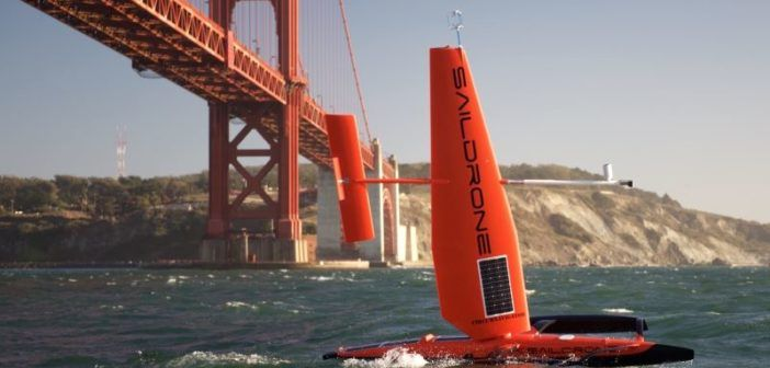 saildrone drone naviga 12 mesi