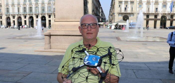 Come sono fatti i droni che illumineranno Torino domenica sera