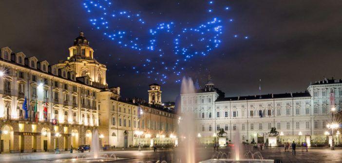 Torino: così 200 droni illumineranno la notte di San Giovanni