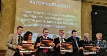 stopincendi2018 droni tutela del verde