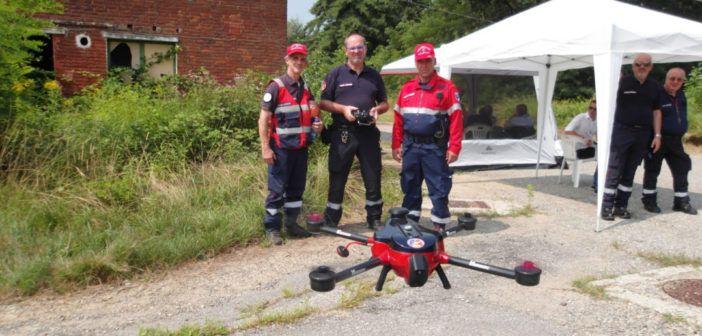 Piemonte: così  volontari della protezione civile testano i droni