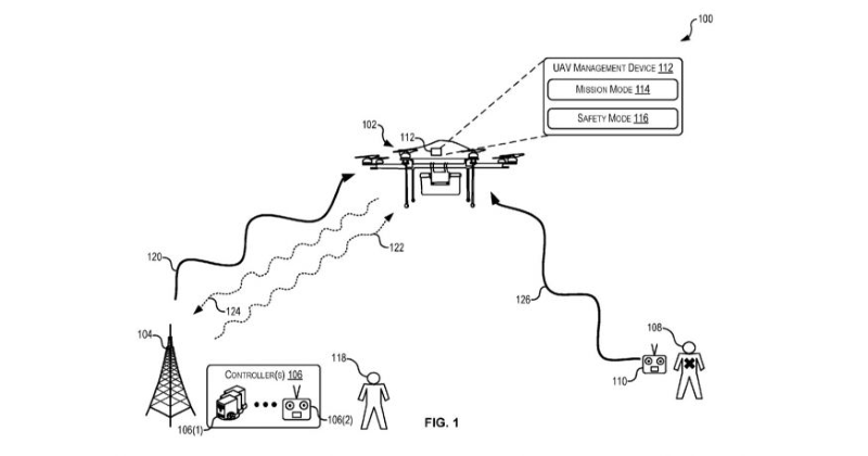 amazon prime air drone patent hijacking