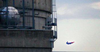 drone greenpeace centrale nucleare francia