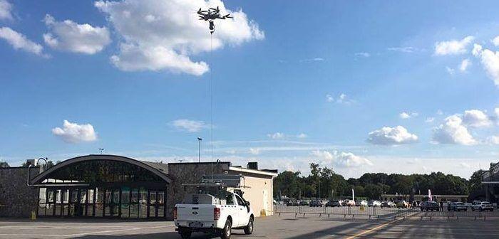 EagleSkyLight, autorizzata al volo di droni senza visuale diretta