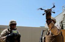marines sciami droni militari