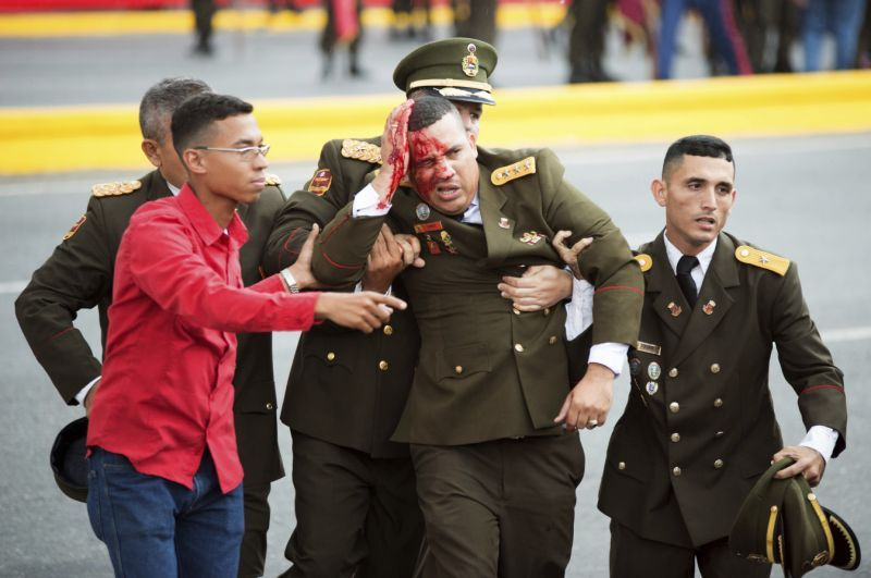 Fallisce attacco contro Maduro a Caracas