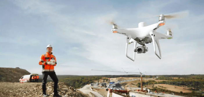 Precisione al centimetro per il drone DJI Phantom 4 RTK