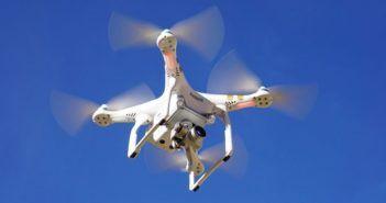 drone alimentato da microonde