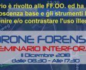 Seminario Drone Forensic a Riccione, ma solo per forze dell'ordine