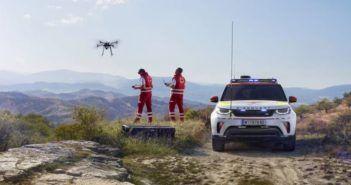 Anche il drone Land Rover al Salone Auto di Parigi