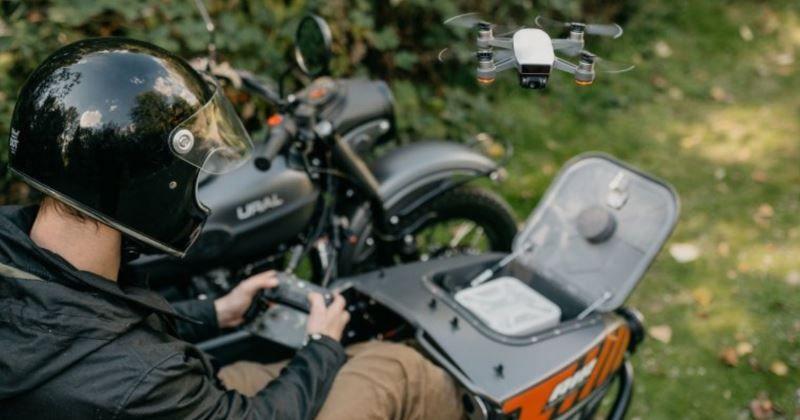 drone sidecar ural air le