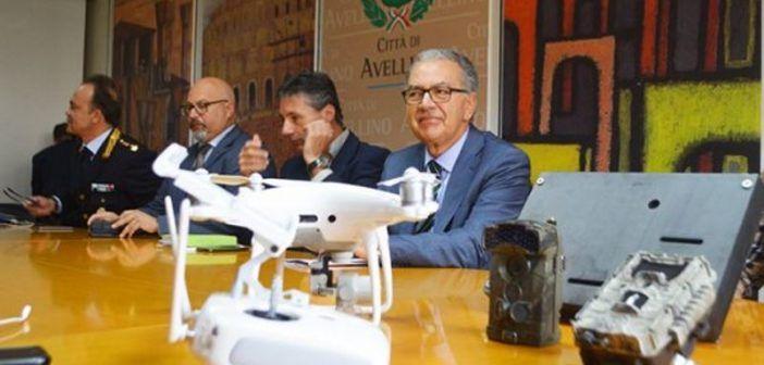 droni contro roghi tossici avellino