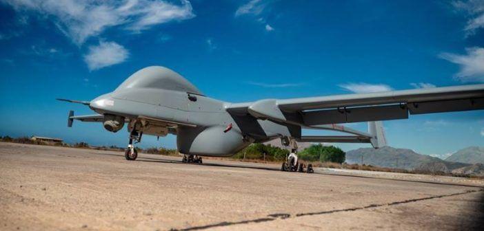 frontex inizia test droni sul mare italia