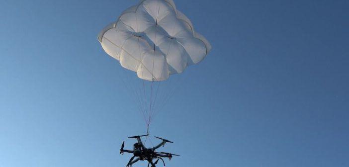 paracadute per drone matrice 600 rescue drone