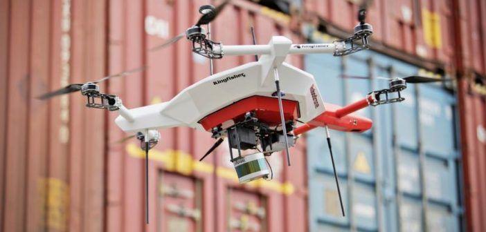 skoda testa drone inventario