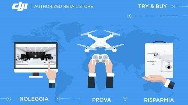 Vuoi comprare un drone DJI, ma non sei sicuro? Noleggialo e provalo prima!