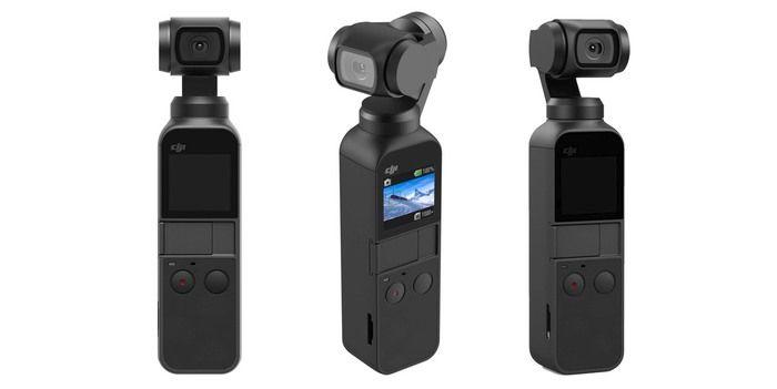 DJI Osmo Pocket: la nuova videocamera 4K con stabilizzatore a tre assi