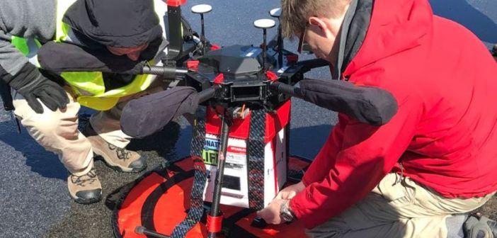 drone per trasporto di organi in maryland
