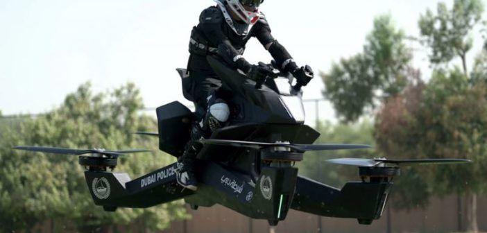 Entro il 2020 la polizia di Dubai potrebbe usare una moto volante