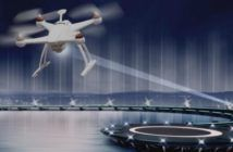 ricarica droni in volo con diamanti sintetici e laser