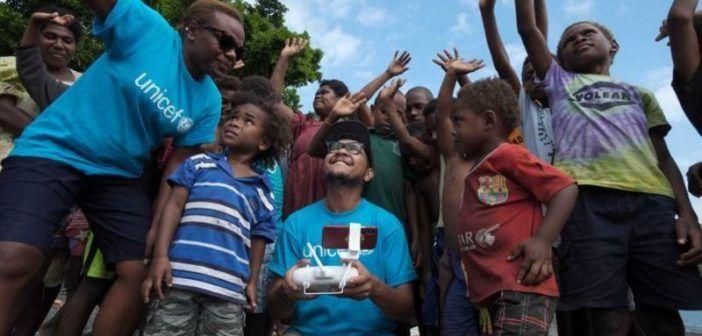 unicef trasporto vaccini via drone vanuatu