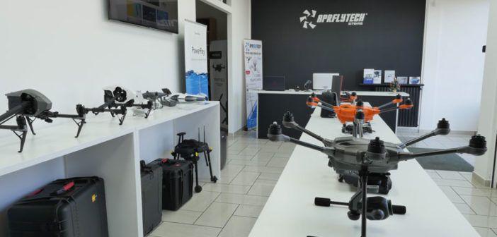 Nuovo negozio di droni DJI a Paderno Dugnano (MI). Inaugurazione il 15 dicembre, con buffet e gadget per tutti