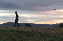 droni per studiare movimenti degli attori film animazione