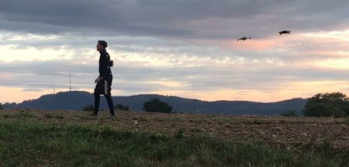 Film animati in 3D? I droni riprendono i movimenti degli attori!