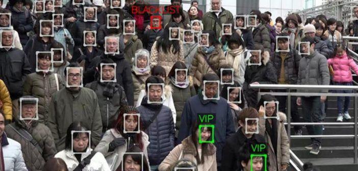riconoscimento facciale per i droni