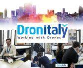Start up del mondo dei droni al Dronitaly di Milano