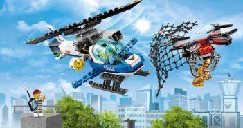 lego city polizia aerea anti drone