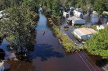 droni per portare cibo alle vittime di uragani