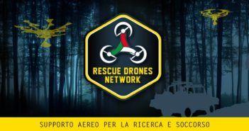 Droni e integrazione con lo spazio aereo, Rescue Drone Network la sperimenta sul campo