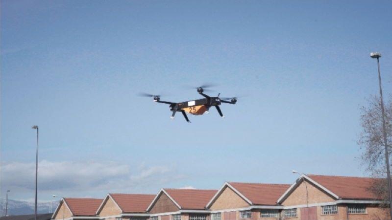 A Torino Leonardo testa trasporto merci a mezzo drone elettrico, prima volta in Italia