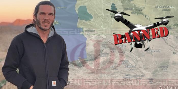 Turista francese con drone accusato di spionaggio in Iran