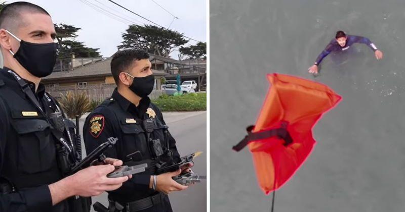 California: Droni per portare salvagenti ai bagnanti in difficoltà