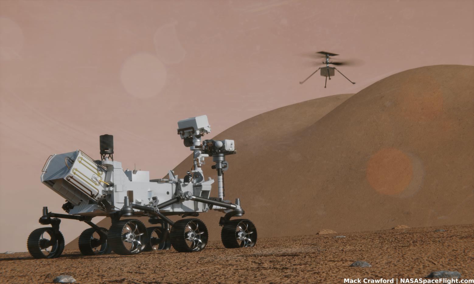 Ingenuity ce l'ha fatta, primo volo di un drone su Marte (video)