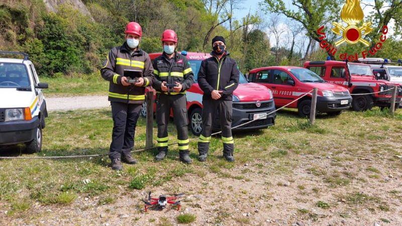 Altra vita salvata dal drone: ritrovato a Castelveccana l'uomo disperso in provincia di Varese