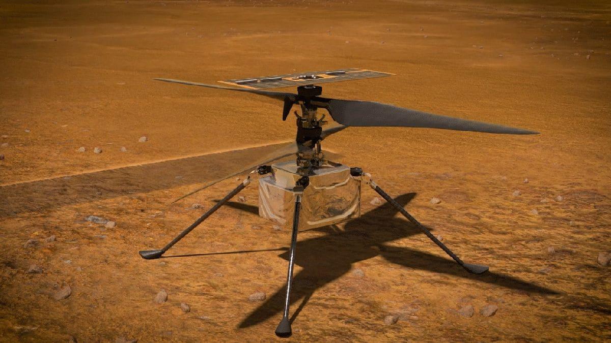 Ingenuity: il drone marziano fallisce un test, decollo rinviato