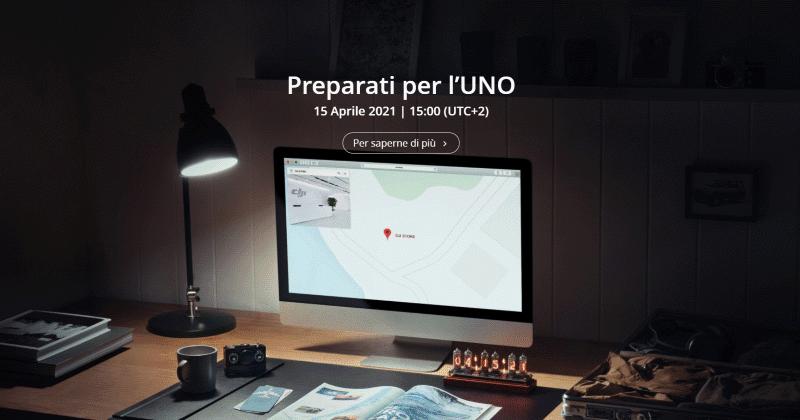 """""""Preparati per l'UNO"""", teaser per il nuovo drone DJI in uscita il 15 aprile"""