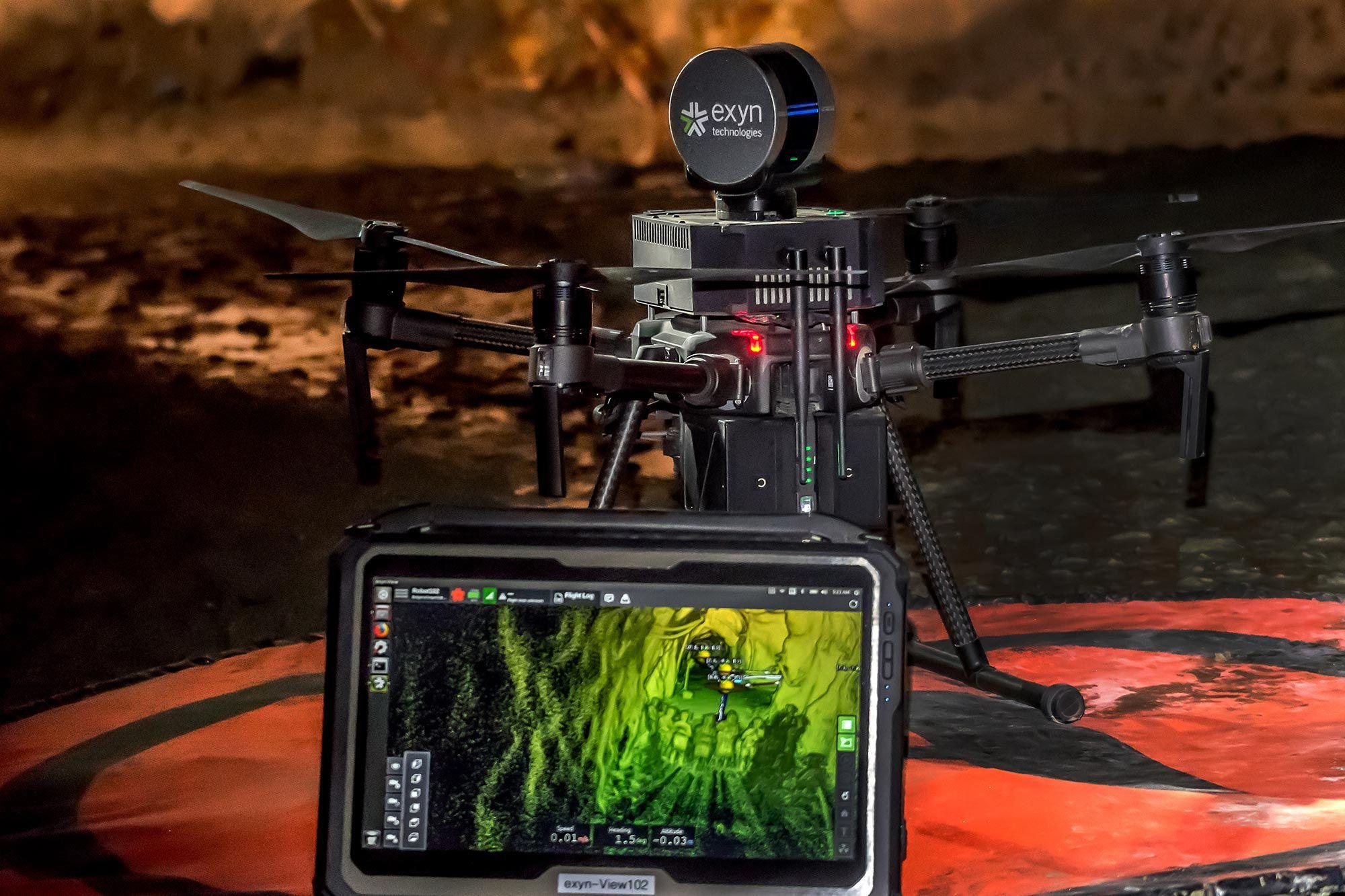 Scala EXYN: quanto autonomo è il tuo drone?