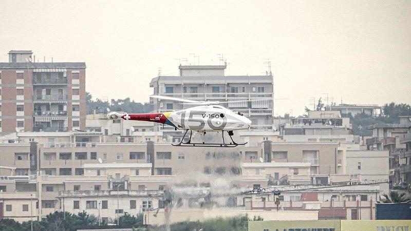 ECARO: a Grottaglie test con drone elicottero da 150 kg in BVLOS
