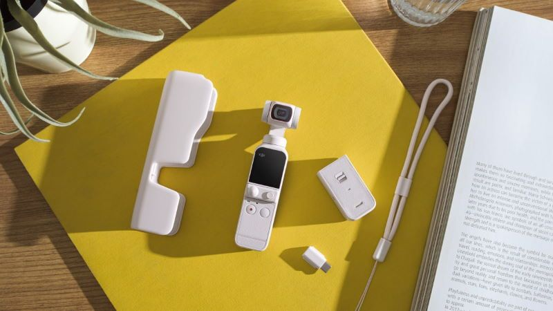 Sunset White Pocket 2, il nuovo gimbal tascabile di DJI