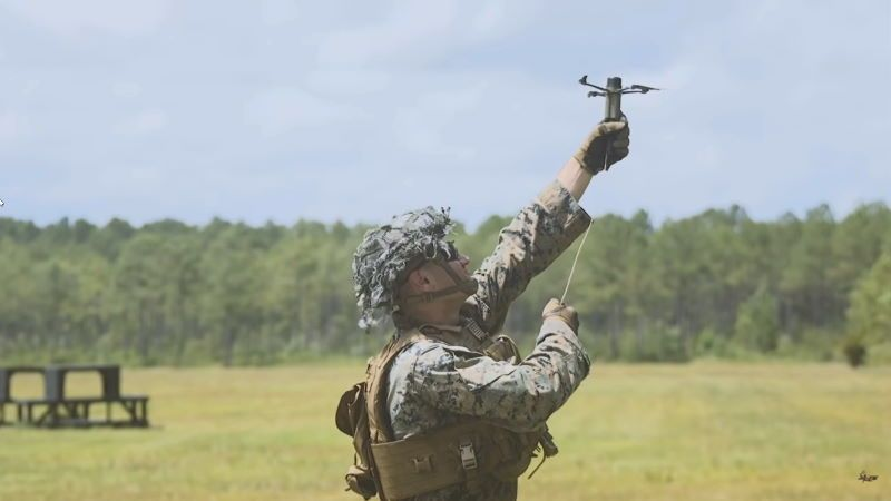 """Drone 40"", la nuova arma kamikaze dei Marines americani"