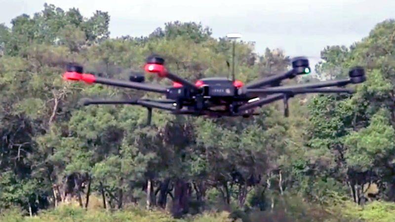 Africa: Droni per liberare dalle mine un corridoio per la migrazione degli elefanti