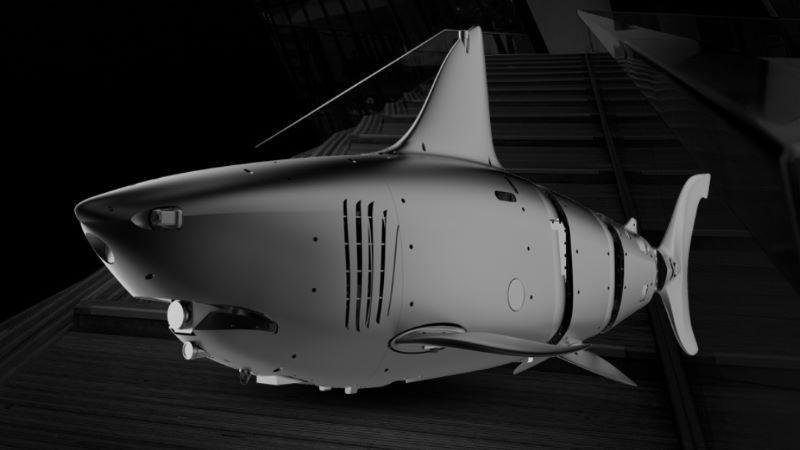 Robo-Shark il drone militare subacqueo cinese a forma di squalo